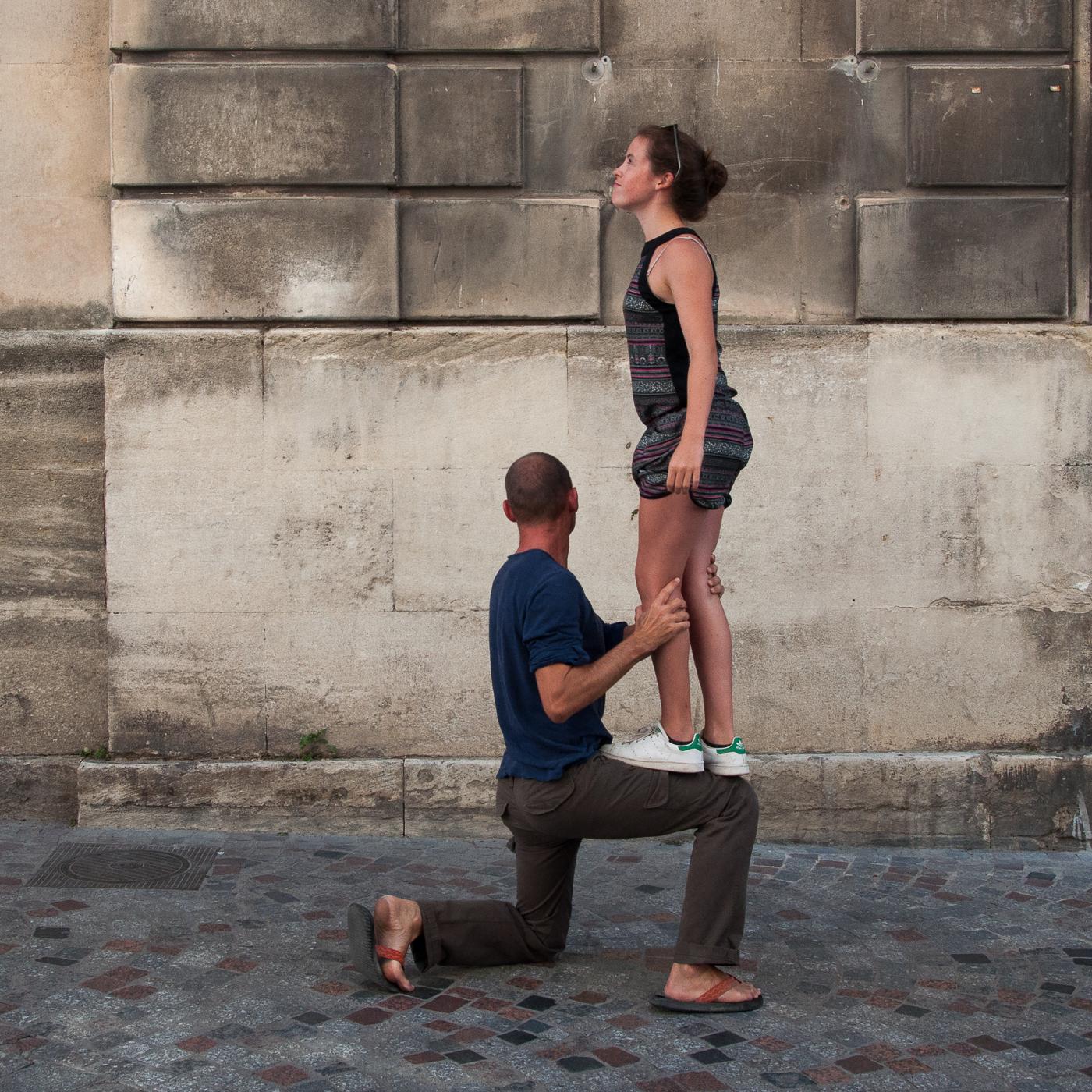 Arles 2015 - Equilibre de profil