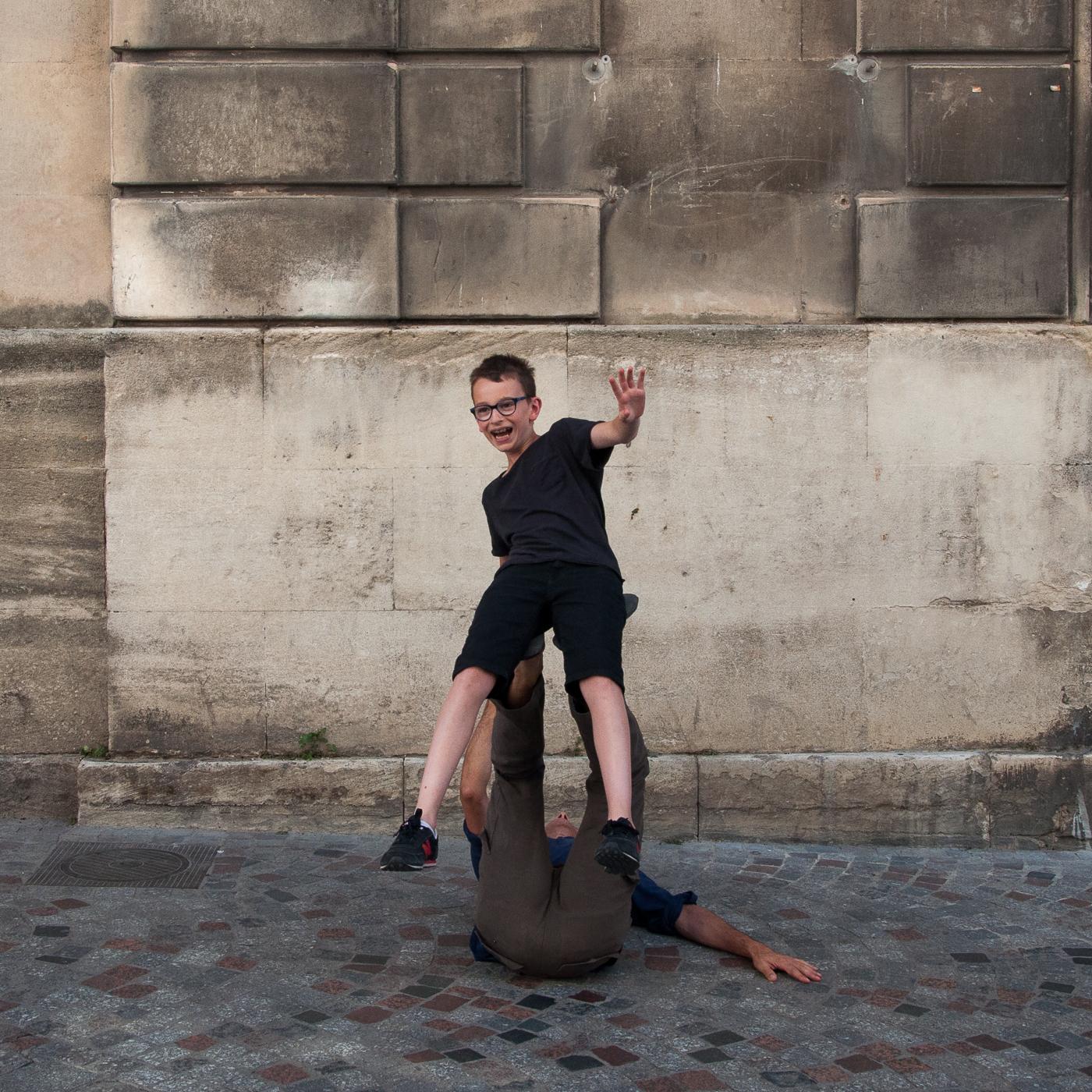 Arles_2015_-_Décollage_à_un_bras