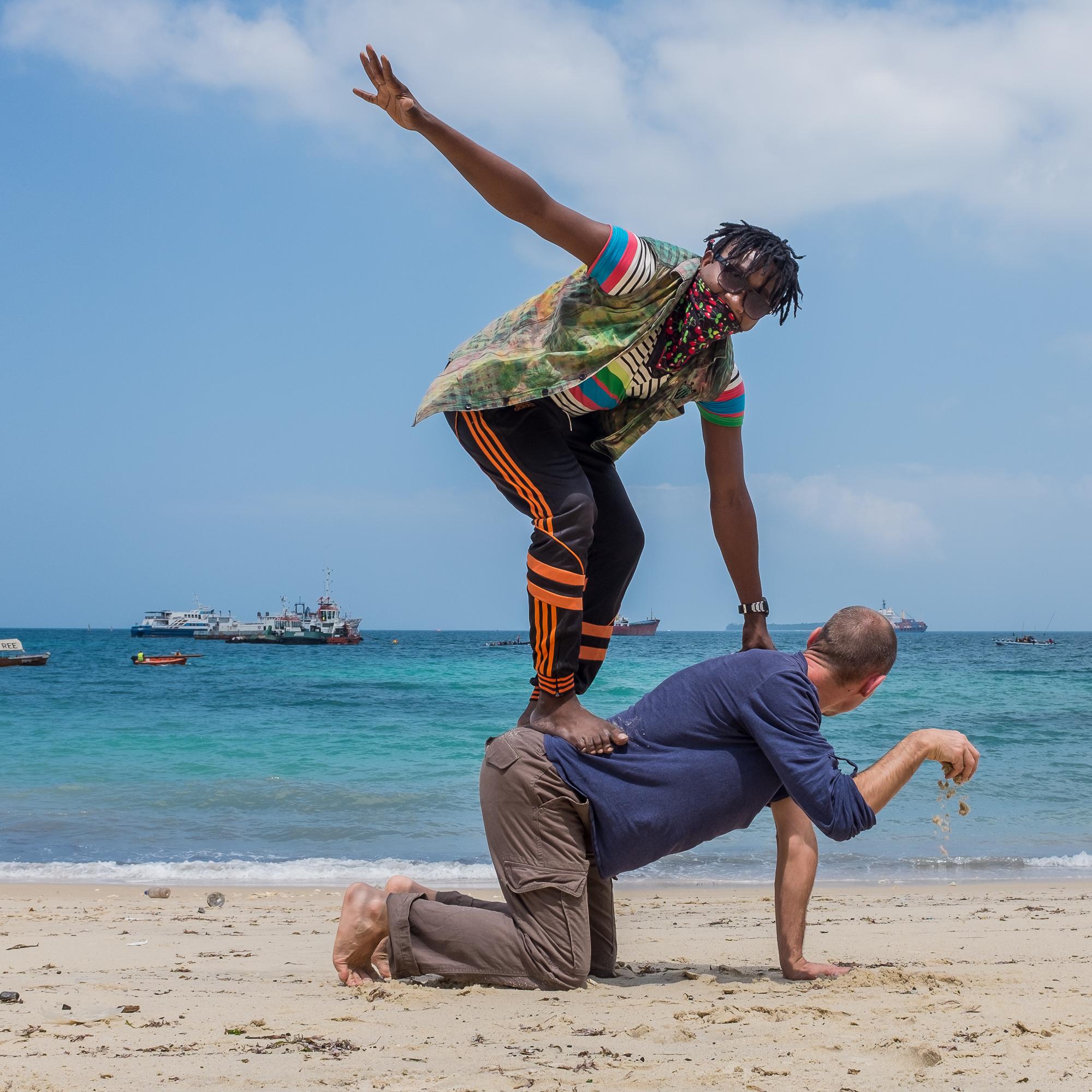 Zanzibar beach - Sand_