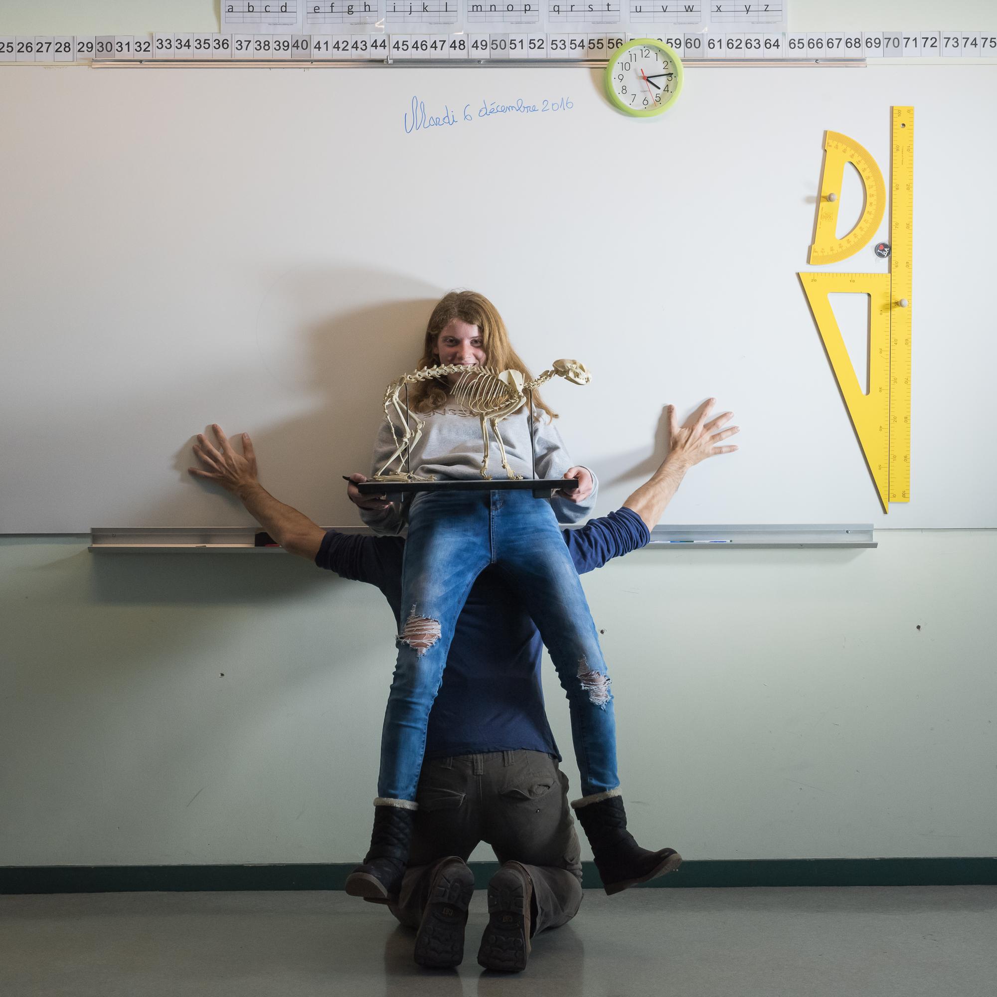 En classe - 16h14