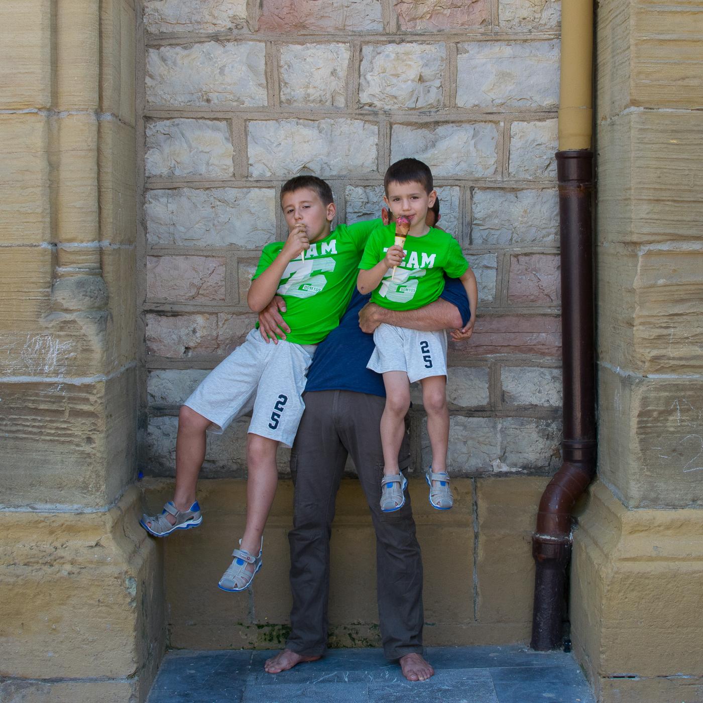 San Sebastian 2016 - Dos helados