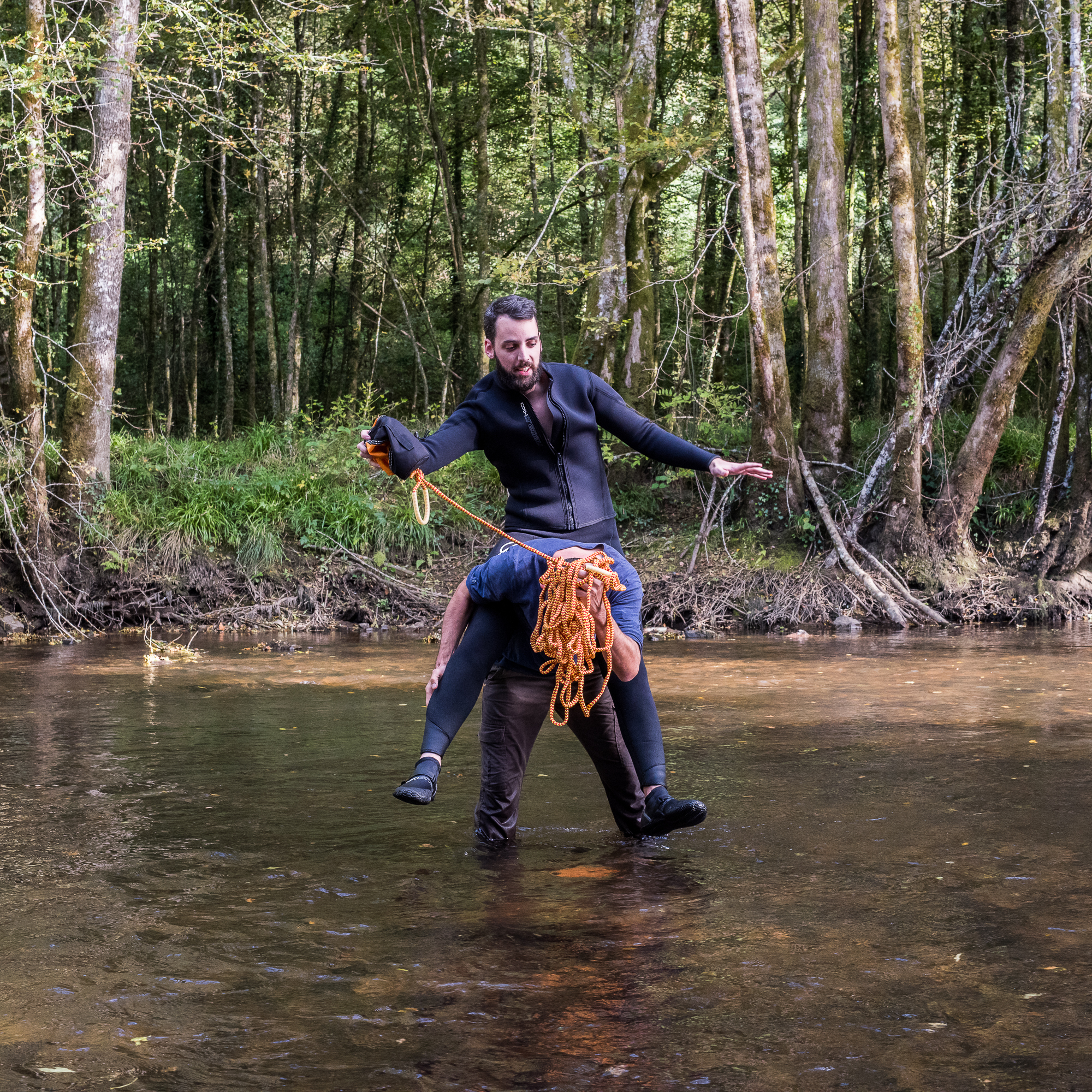 Kayak - La ligne d'eau