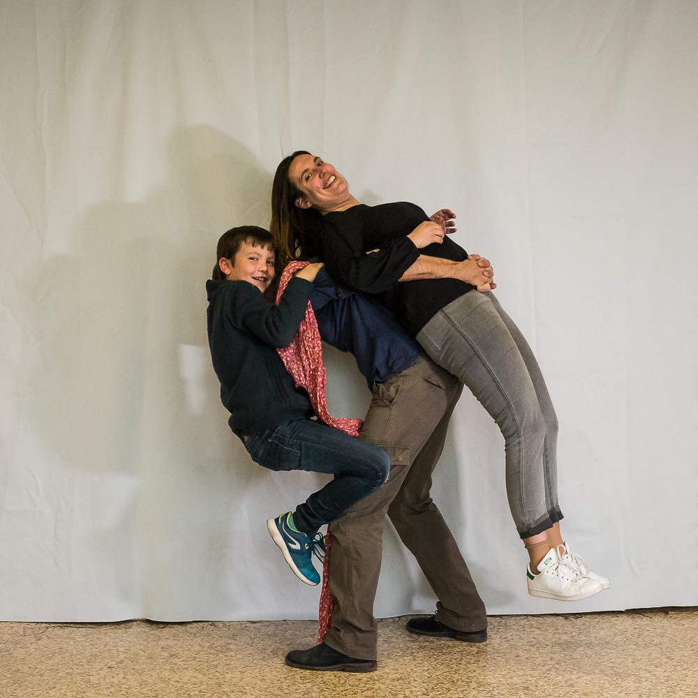 Ecoles Lyon - Traction maman