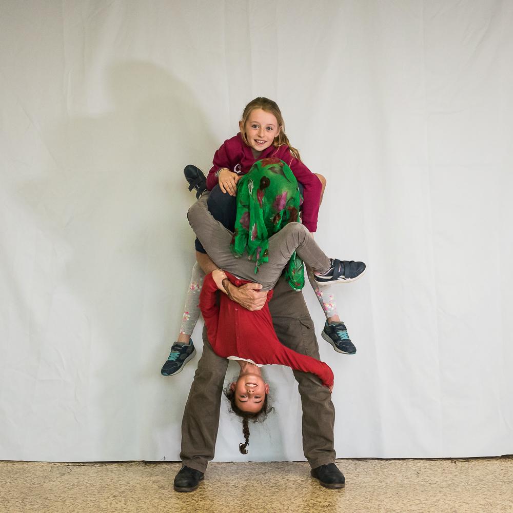 Ecoles Lyon - Deux petits singes