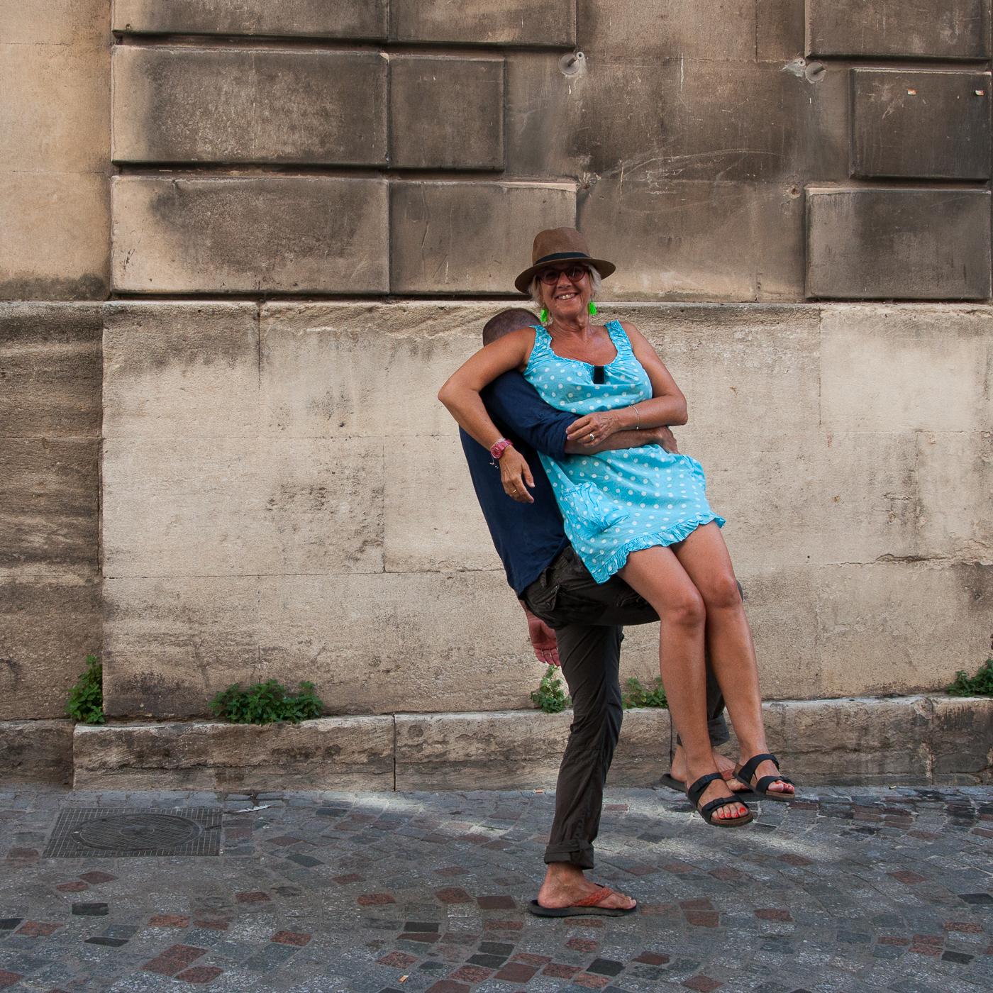 Arles 2015 - La chaise volante