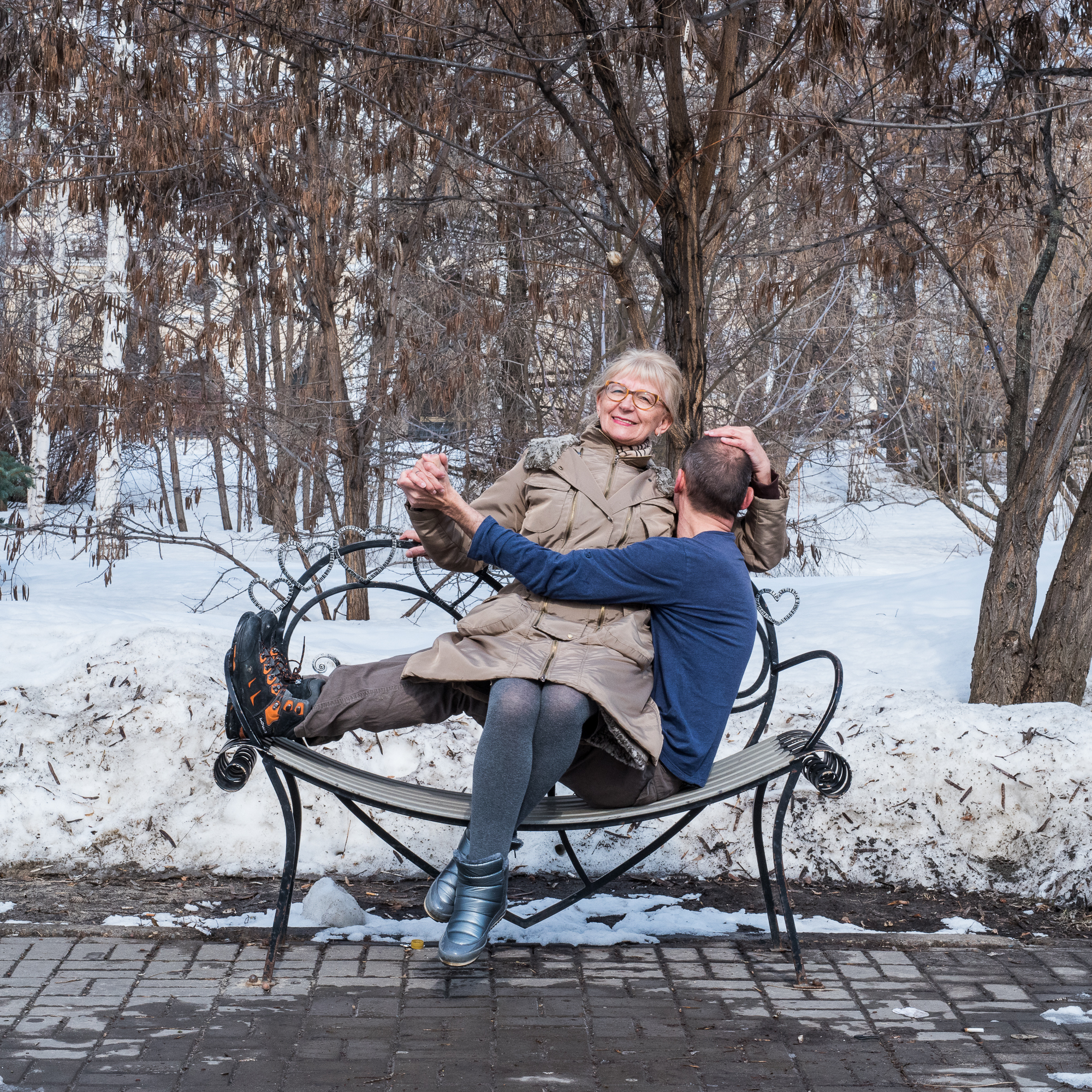 Heart Bench Kazan - 12-34