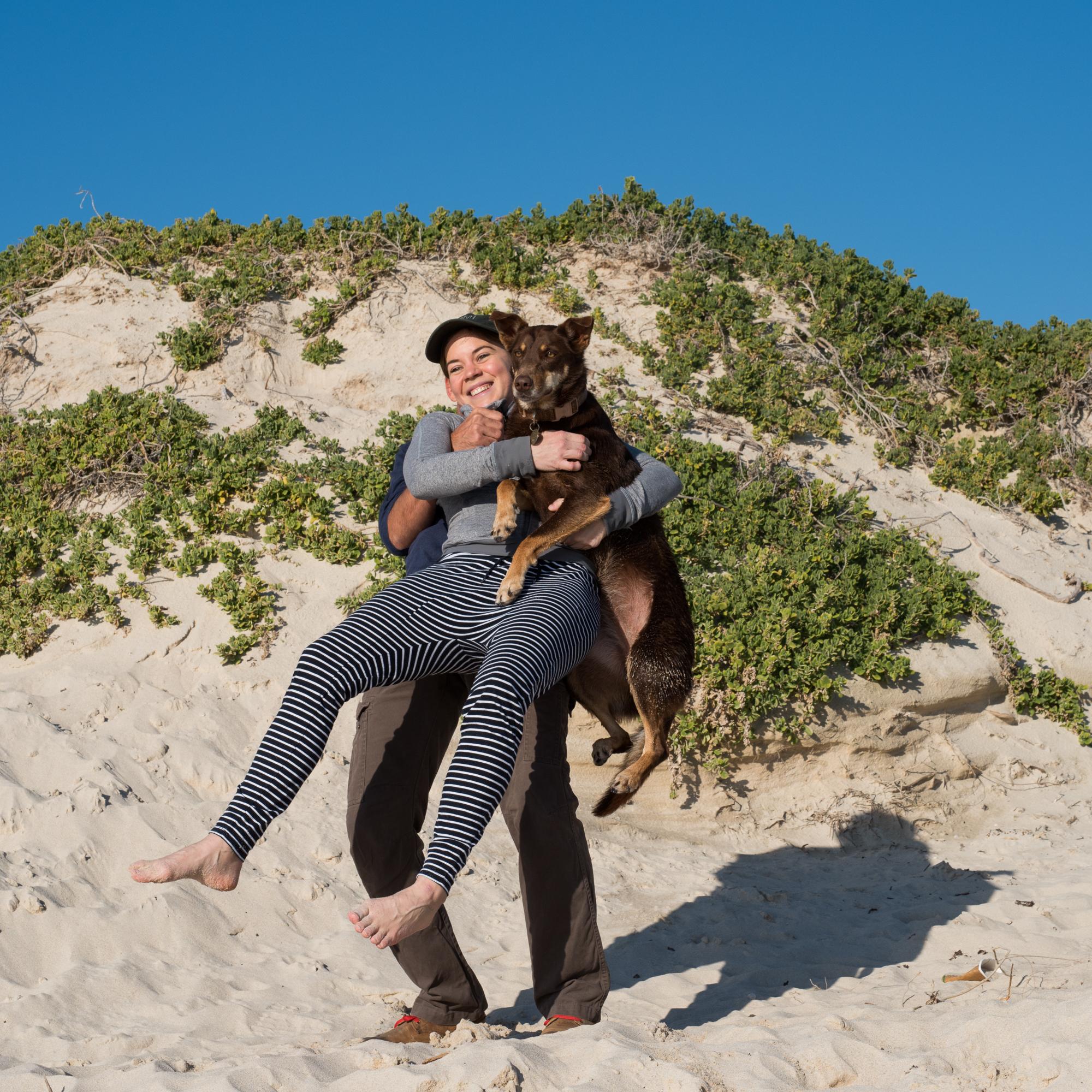 Dog Beach Perth - To work like a dog
