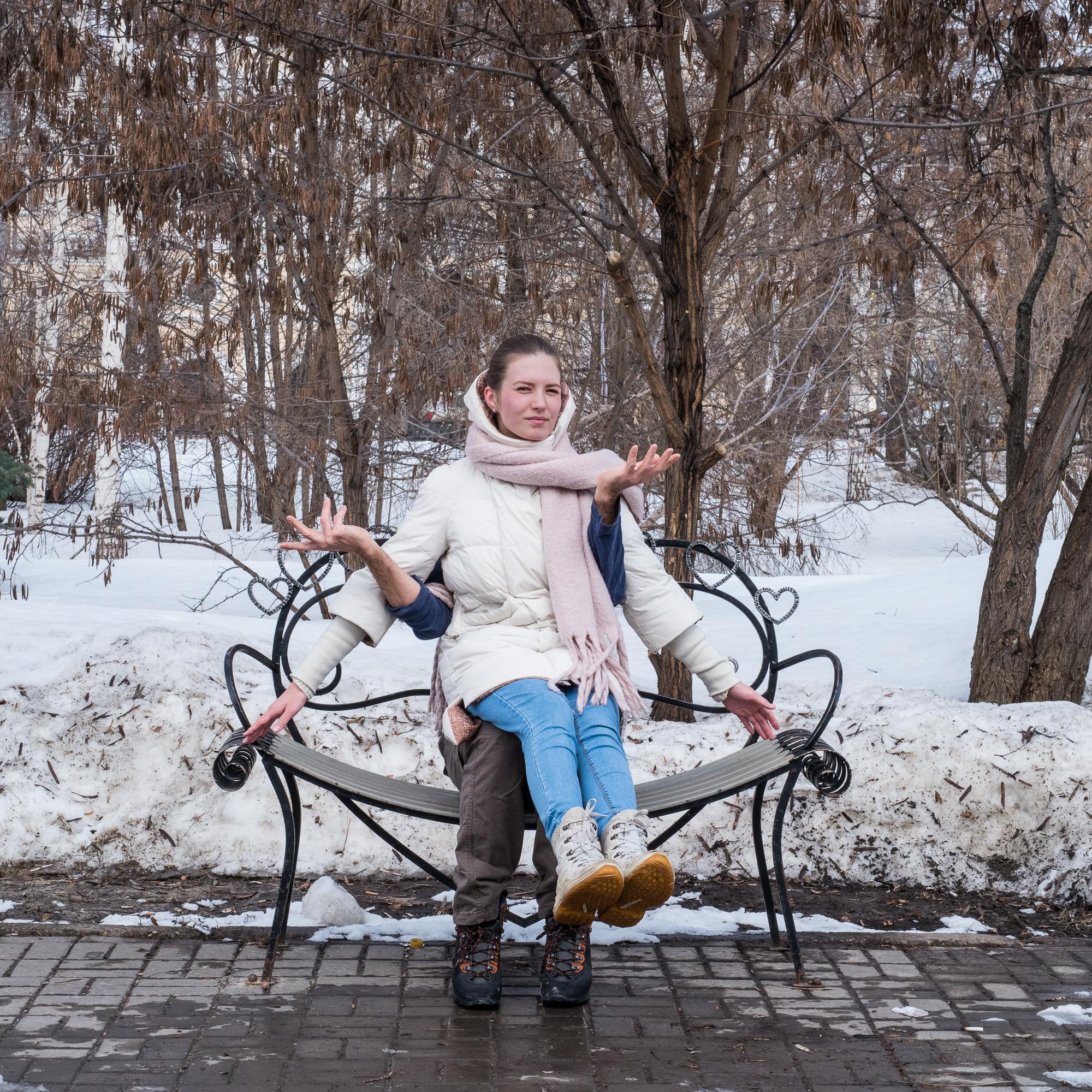 Heart Bench Kazan - 12-24