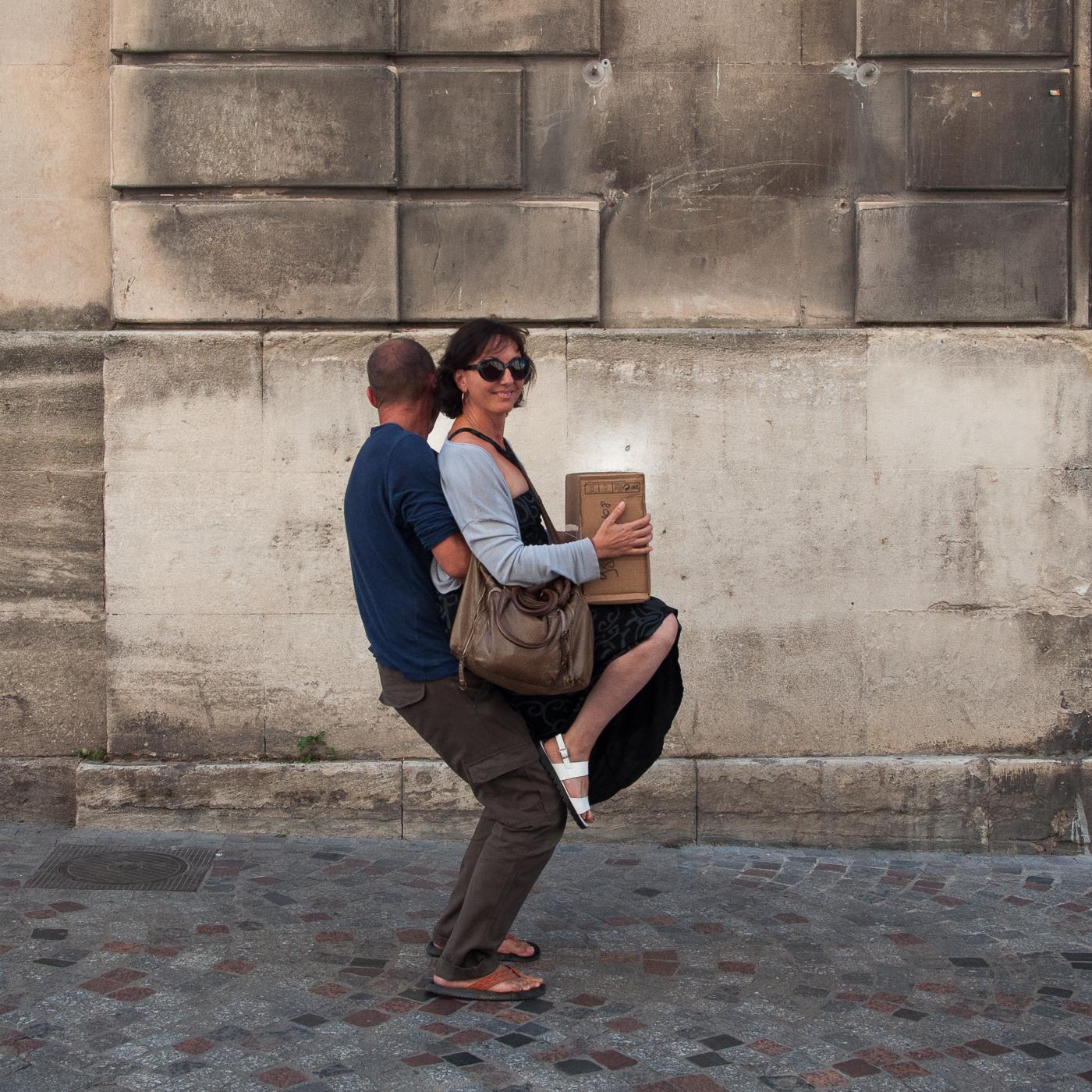Arles 2015 - Le colis