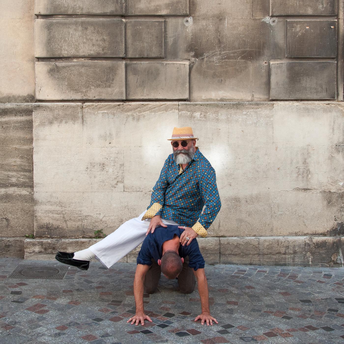 Arles 2015 - Amazone avec barbe