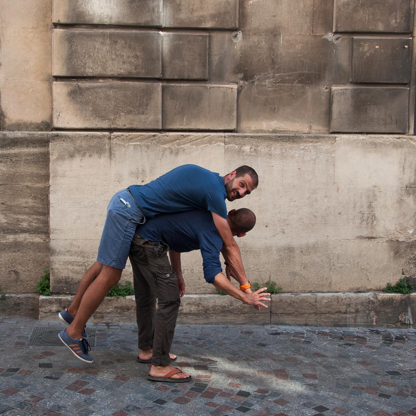 Arles 2015 - Sur le dos