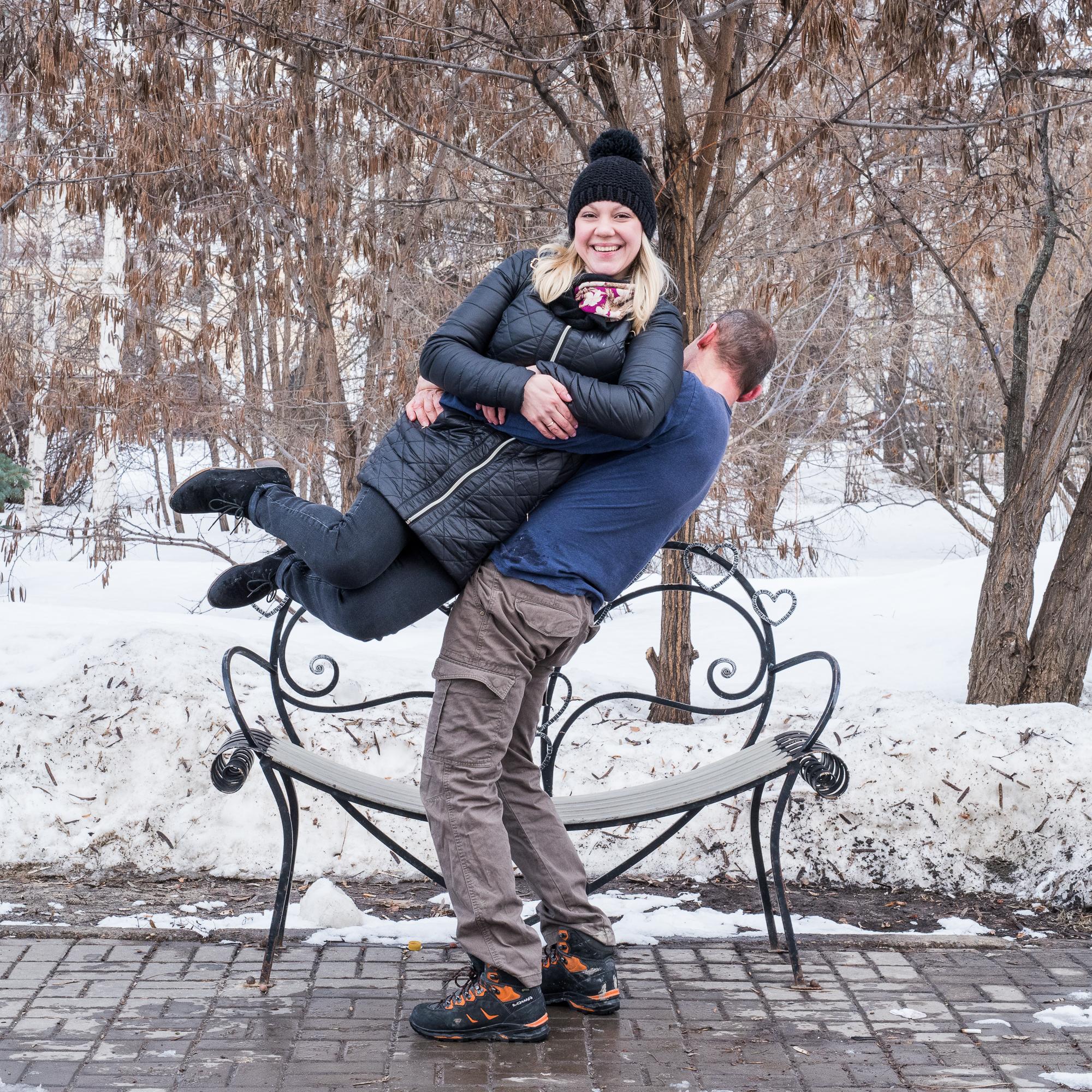 Heart Bench Kazan - 12-15