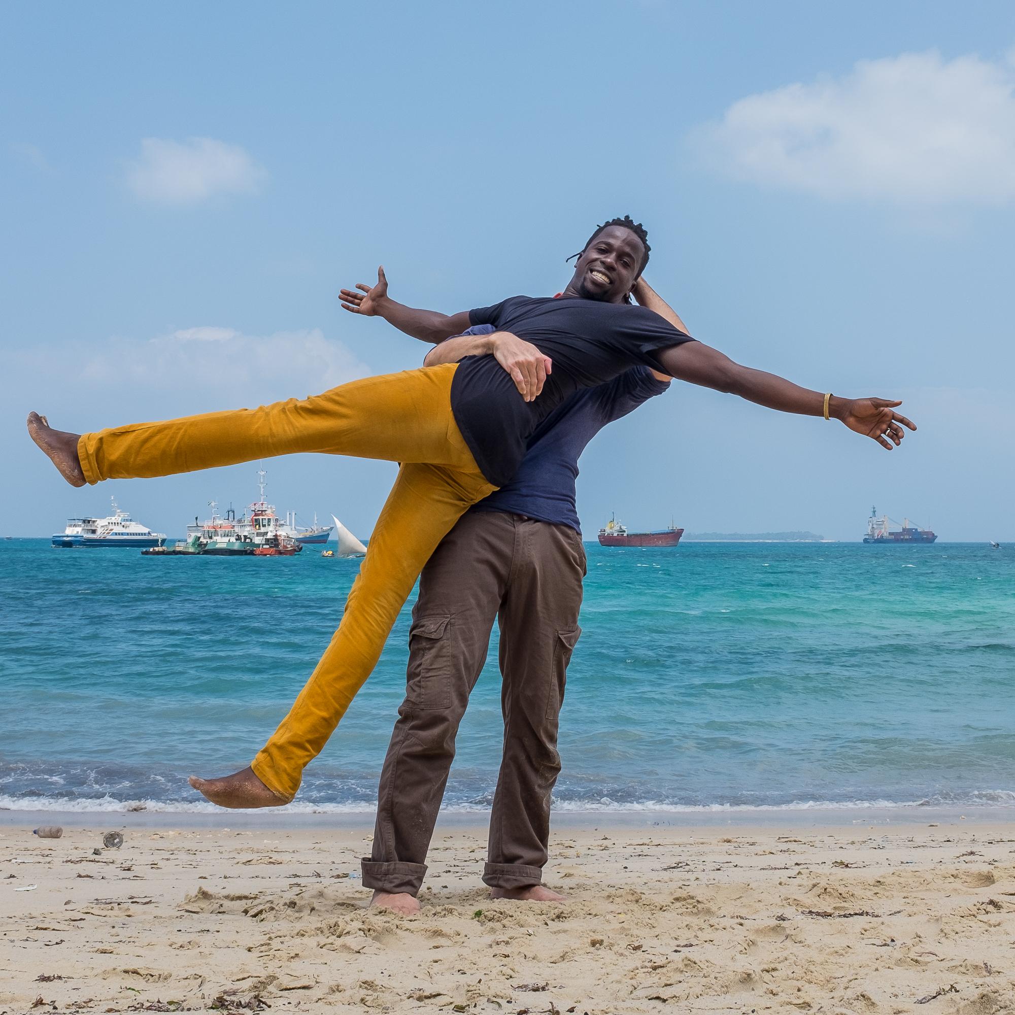 Zanzibar beach - Wave_