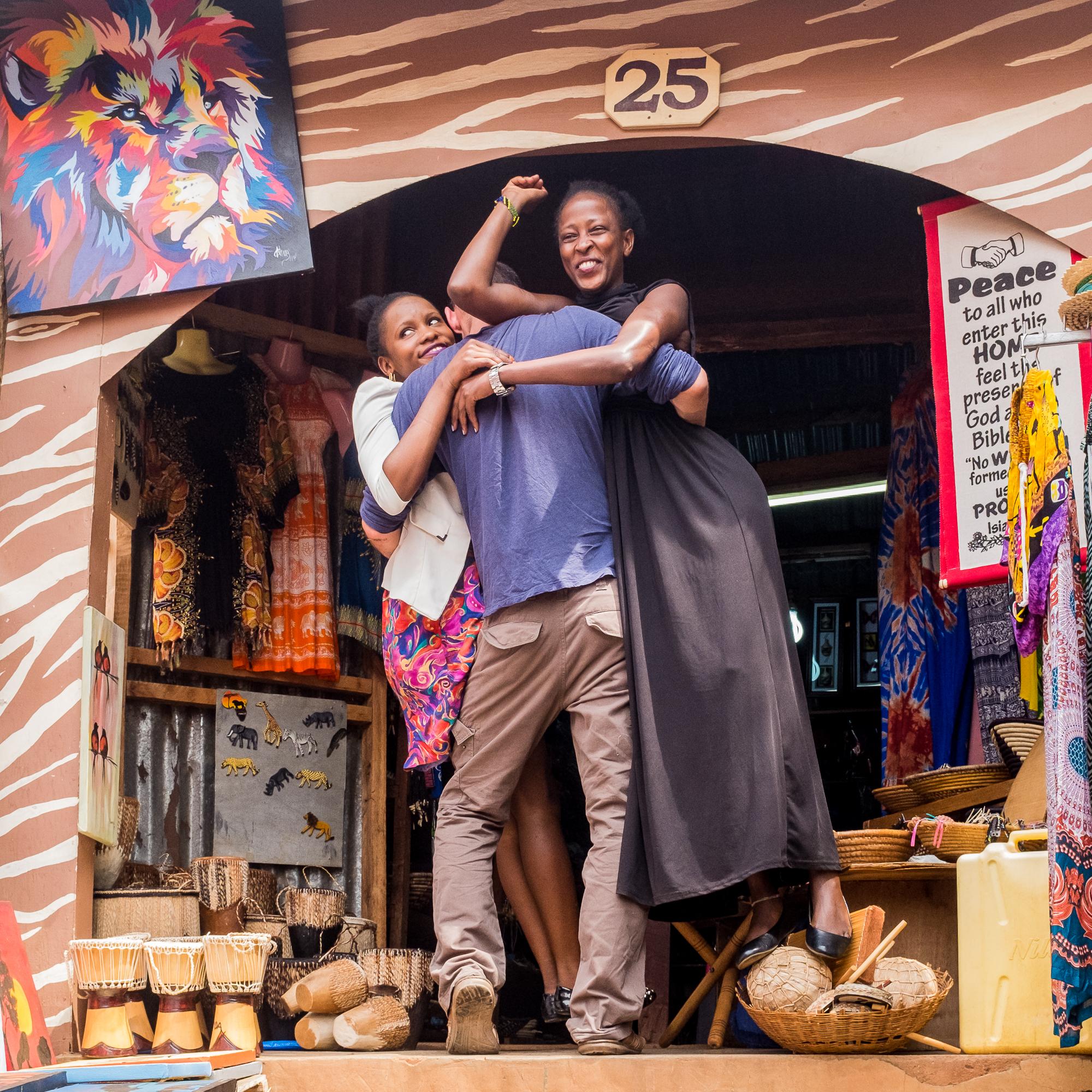 Saturday in Kampala - Shop