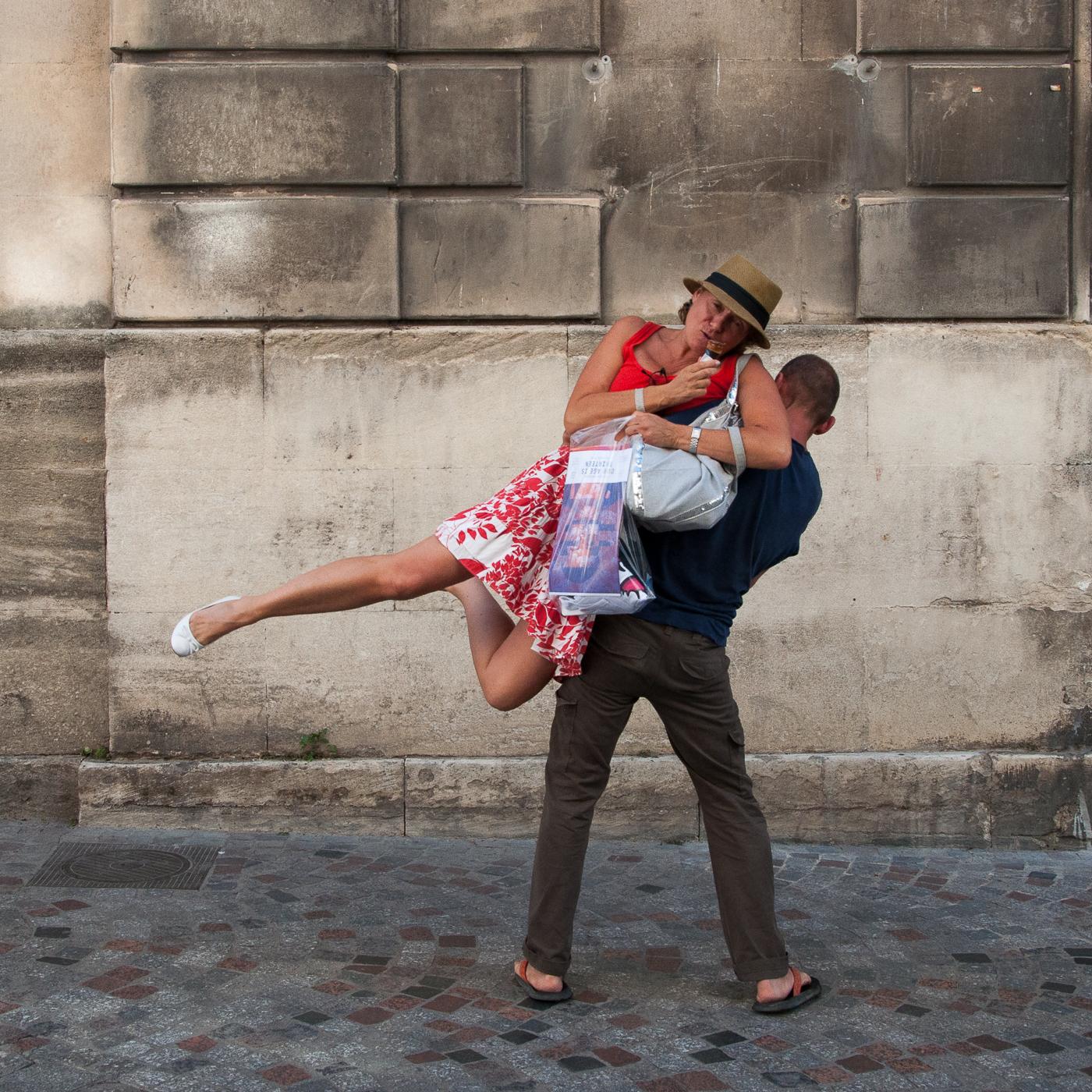 Arles 2015 - Une ballerine blanche