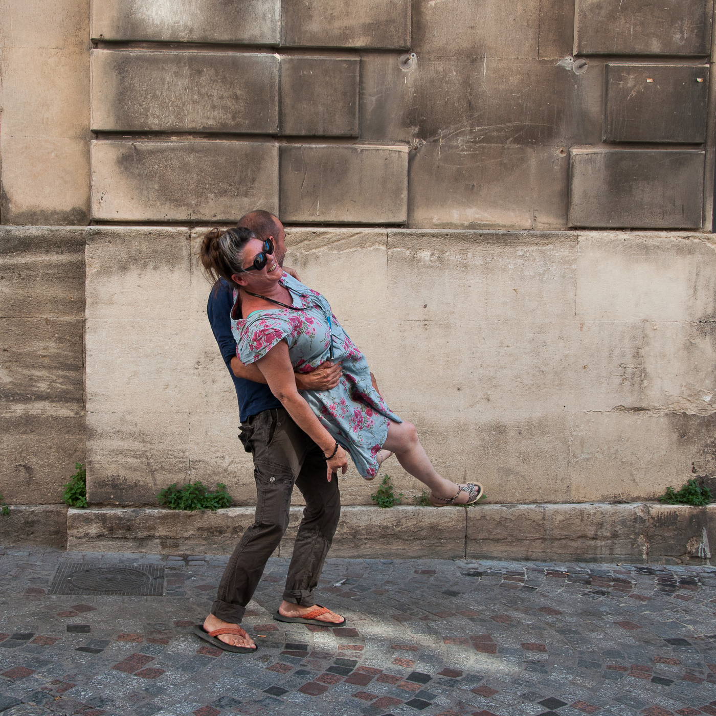 Arles 2015 - Marche au dessus sol