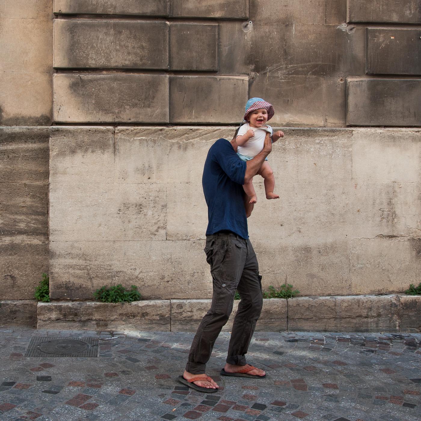 Arles 2015 - Tête de bébé