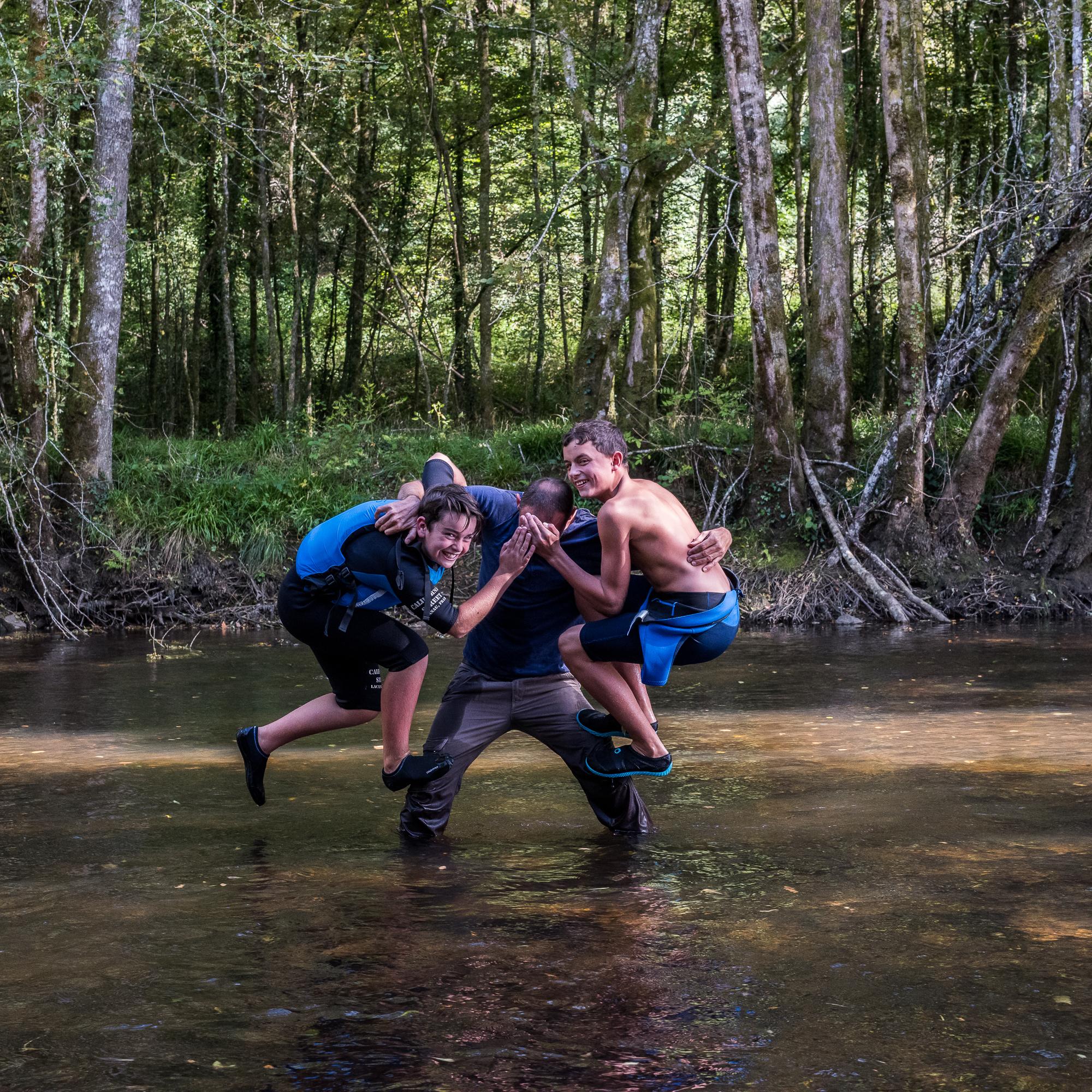 Kayak - L'esprit d'équipe