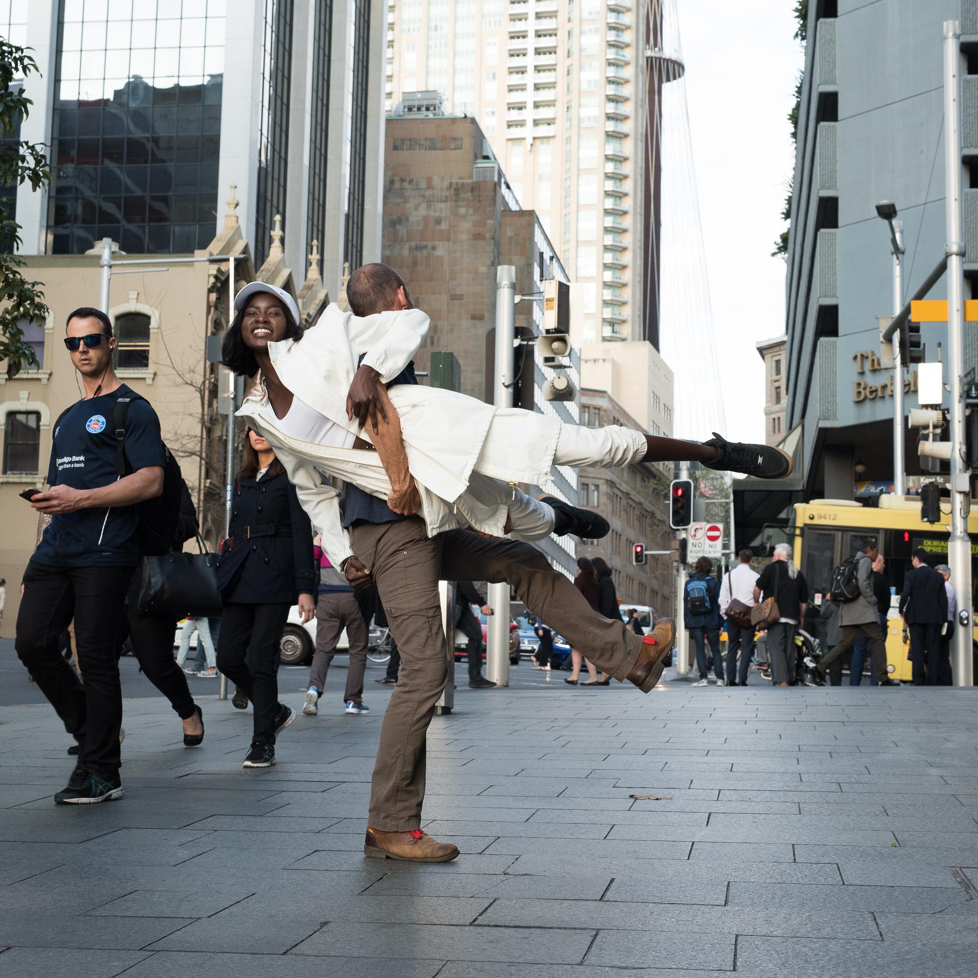 Street Sydney - With dark glasses_