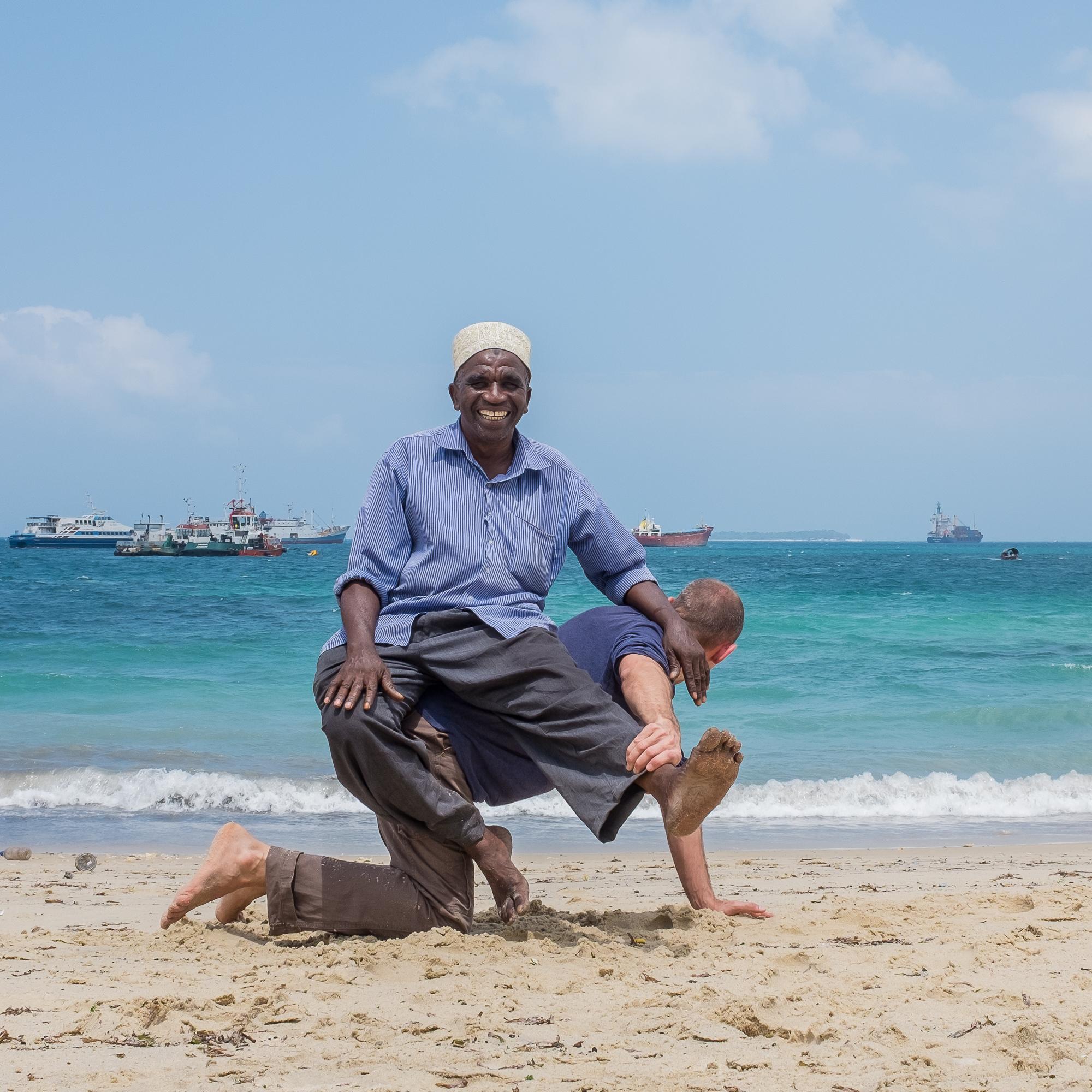 Zanzibar beach - Dhow_