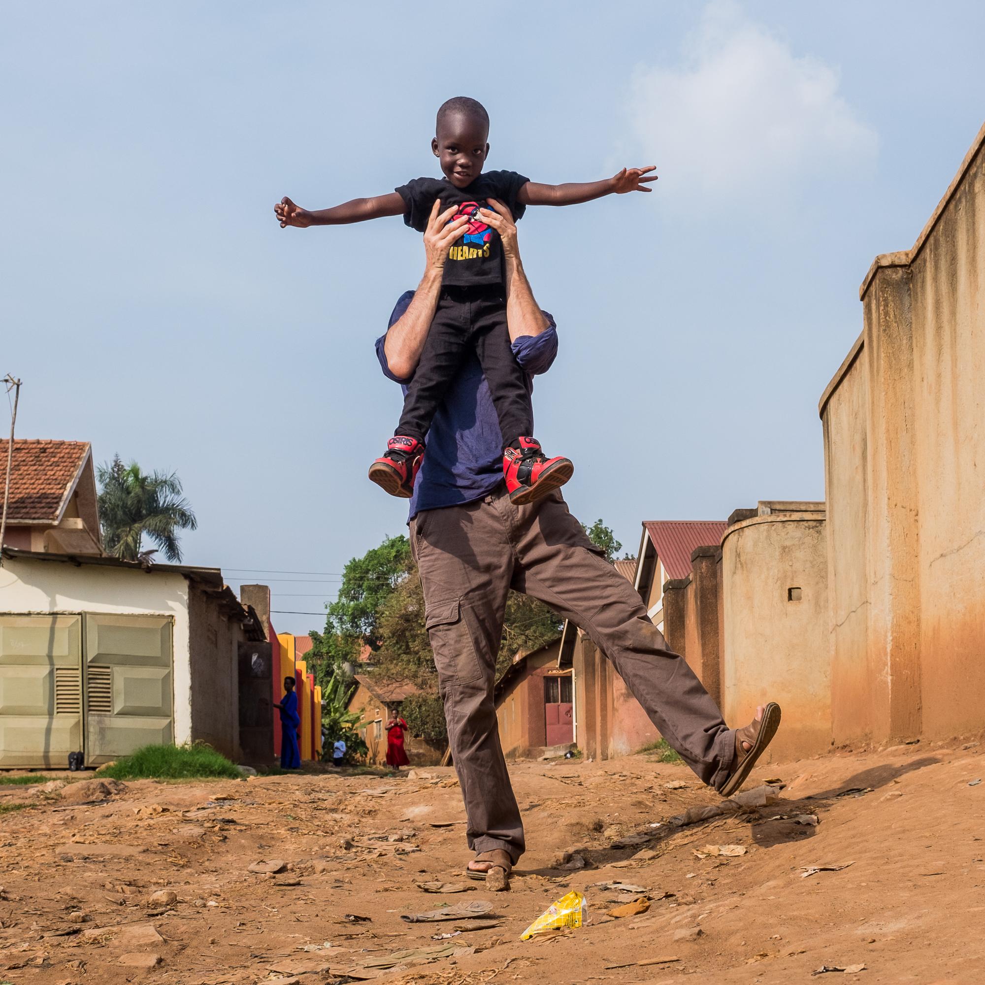 Busega - On one foot