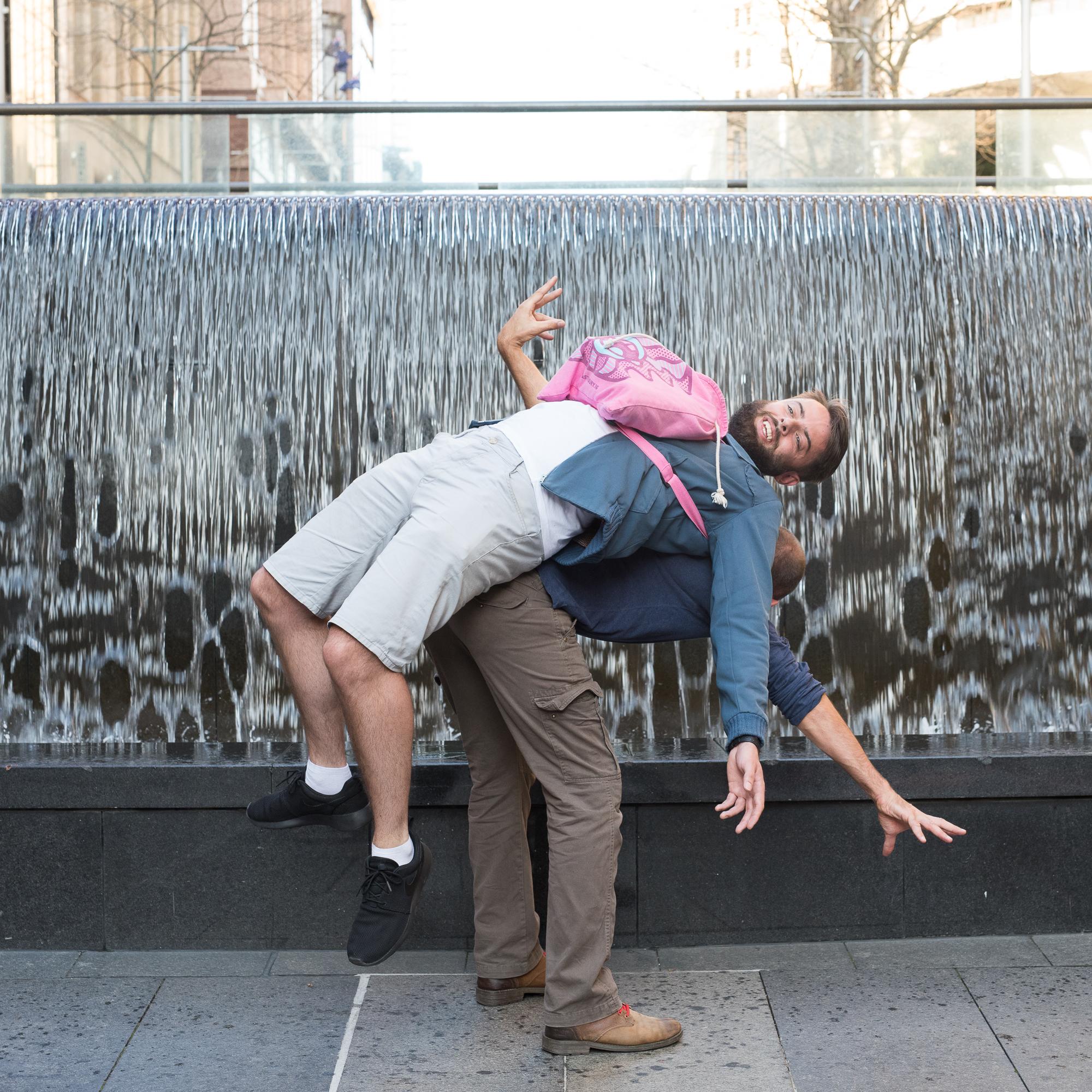 Martin Place Sydney - Backpacking