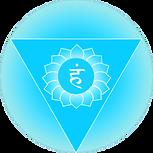 Symbol of Vishuddi throat chakra Orginal Artwork