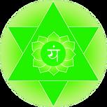 Symbol of Anhata heart chakra Orginal Artwork
