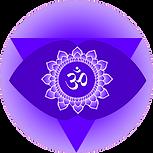 Symbol of Ajna Third eye chakra Orginal Artwork