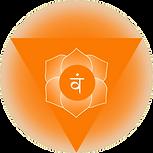 Symbol of svadishthana sacral chakra Orginal Artwork