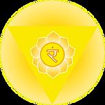 Symbol of Manipur solar plexus chakra original artwork