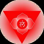 symbol of muladhara root chakra my own artwork