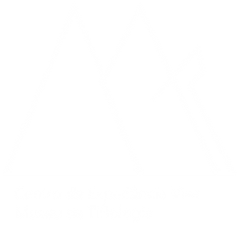 logomarca construída com base na iniciais M e T (Museu de Tiflologia)