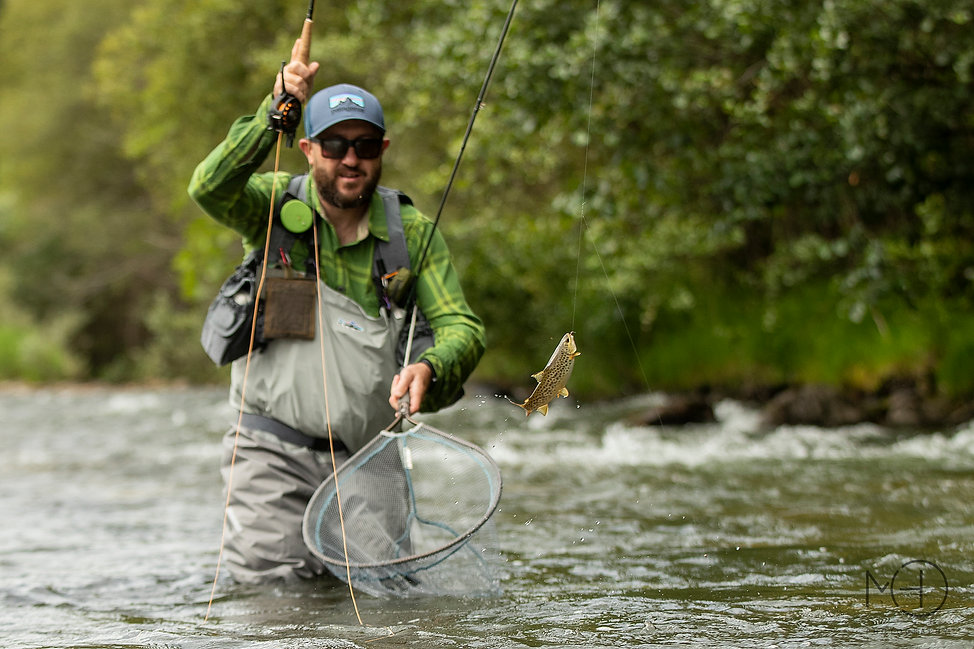 Pesca con mosca Asturias