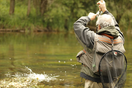 Guias pesca Asturias.Fly fihing guide Asturias