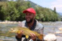 Fly fishin guide
