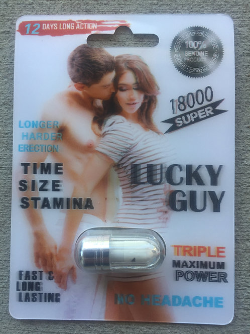 Lucky Guy 24 ct Display Box $3.54 per pill