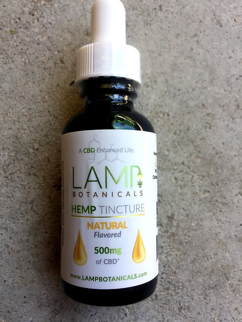 Lamp CBD Oil 500 MG 1oz. 6 bottles $20 per bottle