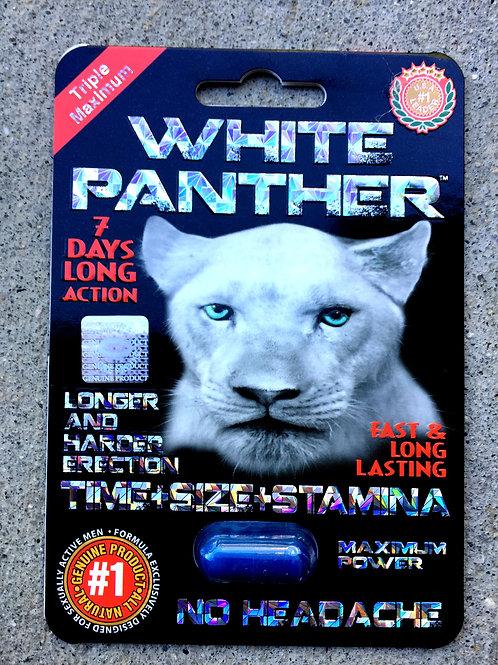 White Panther 30 ct Display box $4.16 per pill
