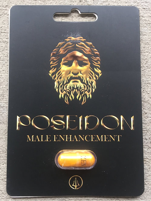 Poseidon Gold 24 ct Display Box $3.75 per pill