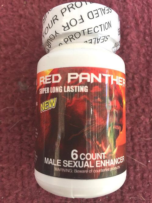 Red Panther 6 ct bottles (10 bottles) $12 per bottle 60 pills total
