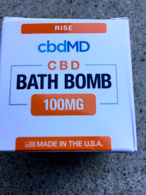 CbdMD Bath Bomb Eucalyptus 100 mg 10 bombs 5 kinds $7.50 per bomb