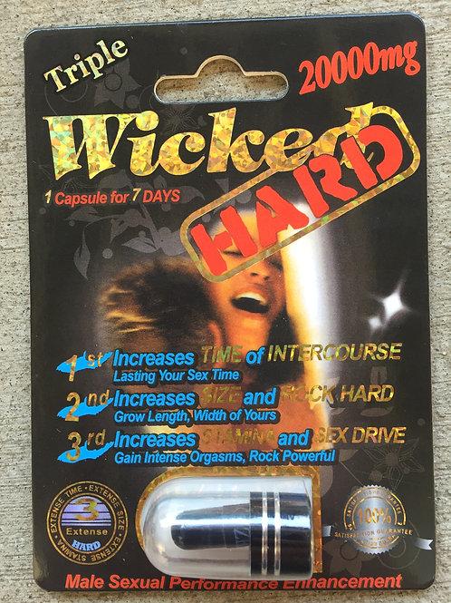 Wicked Hard 24 ct Display Box $5.91 per pill