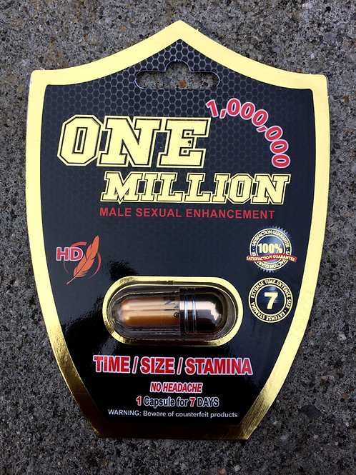 One Million 24 ct Display Box $4.66 per pill