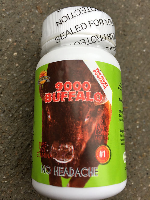 Buffalo 6 ct bottles (10 bottles) $15 per bottle 60 pills total