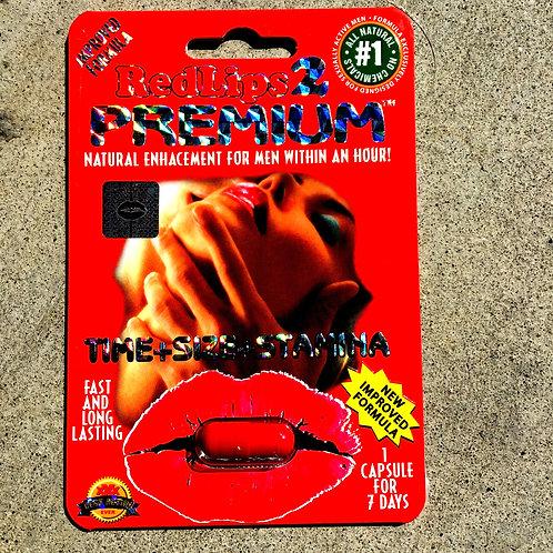 Red Lips 2 Premium -25 ct Display Box $3.84 per pill