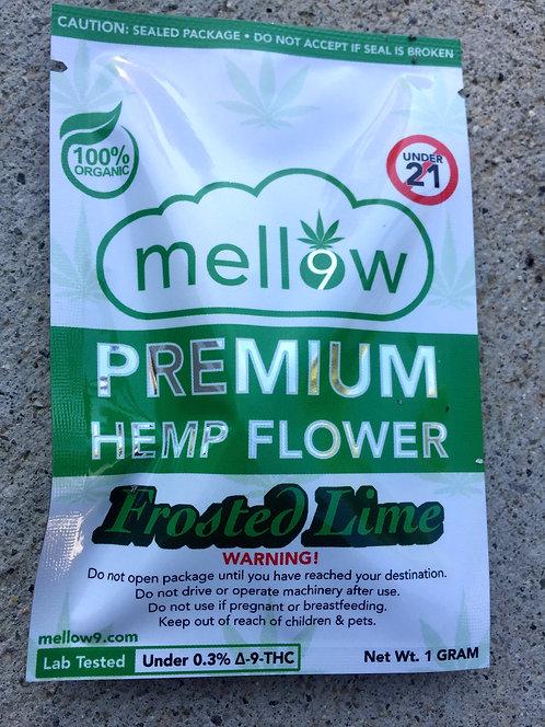 Mellow Premium Hemp CBD Flower 1 gram 24 bags $5.25 per bag