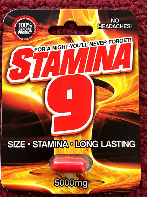 Stamina Nine 24 ct Display Box  $3.95 per pill