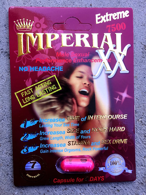 Imperial Extreme 24ct Display Box $4.66 per pill