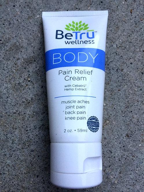 BeTru Wellness Body Pain Relief Cream 2oz 6 bottles $24 per bottle